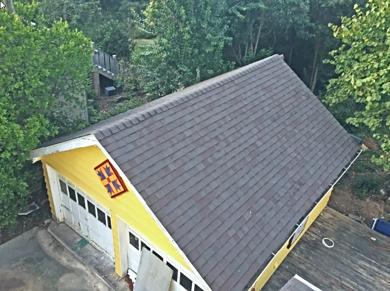 Garage roof replacement Charlotte