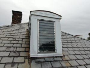 Slate Roof on Dormer