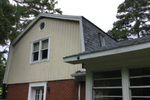 Gambrel Roof Replacement