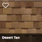 Charlotte Shingle Roofing Desert Tan