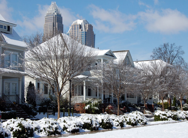 Roofing Charlotte Winter