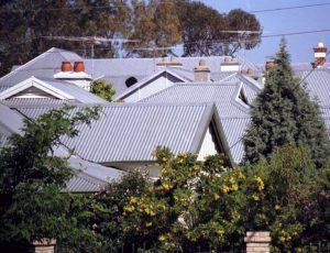 Metal roof tops