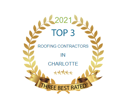 Badge for Top Roofing Contractor in Charlotte 2021