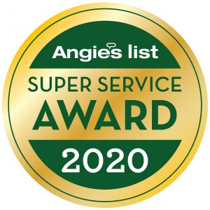 Roofing Contractor Angie's List Super Service Award